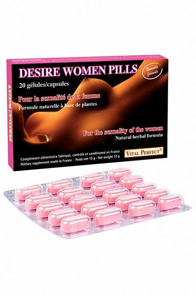 Desire Women Pills  (20 gélules)