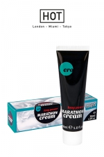 Crème de pénis Long Power Marathon Cream - Ero : Crème retardante pour homme, pour des rapports sexuels qui durent plus longtemps.